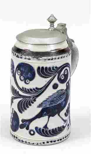 Westerwald roller jug, 18th ce