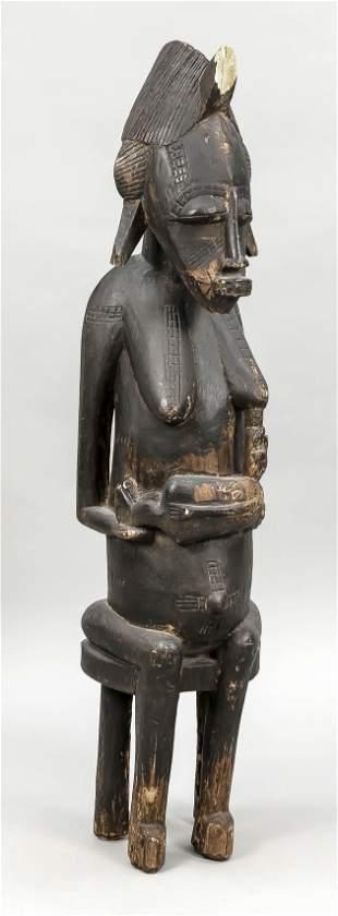 Female figure, Africa 20th c.,