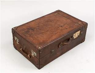 Clothes trunk, end of 19th c.,