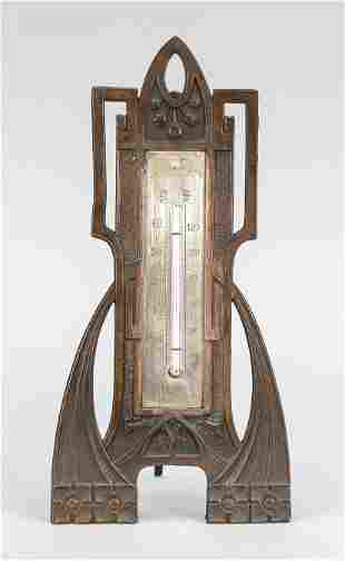 Art Nouveau thermometer for th