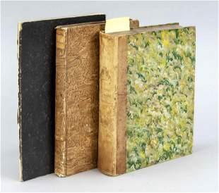 Natural history -- 3 books: Di
