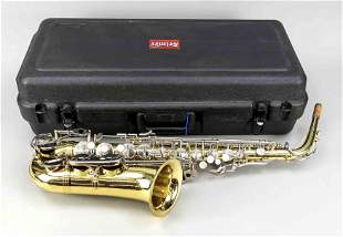 Alto saxophone by Selmer (USA)