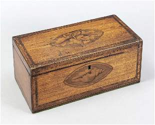 Rectangular lidded box, Englan
