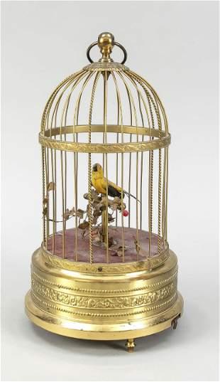 Songbird automaton, late 19th/