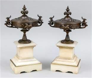 Pair of side plates around 192