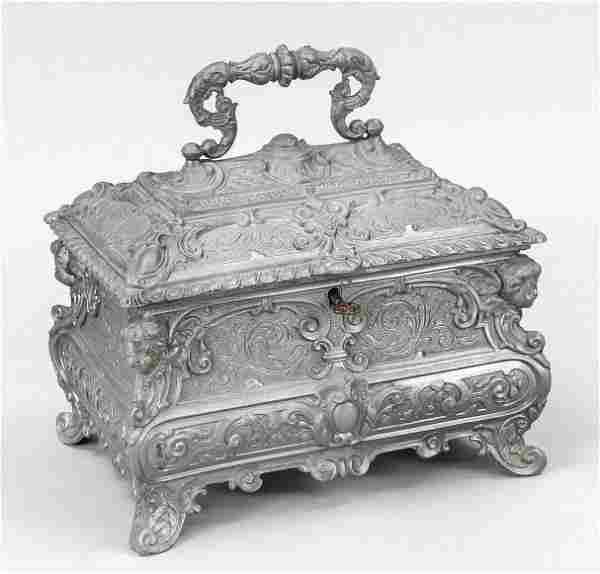 Historism casket, end of 19th