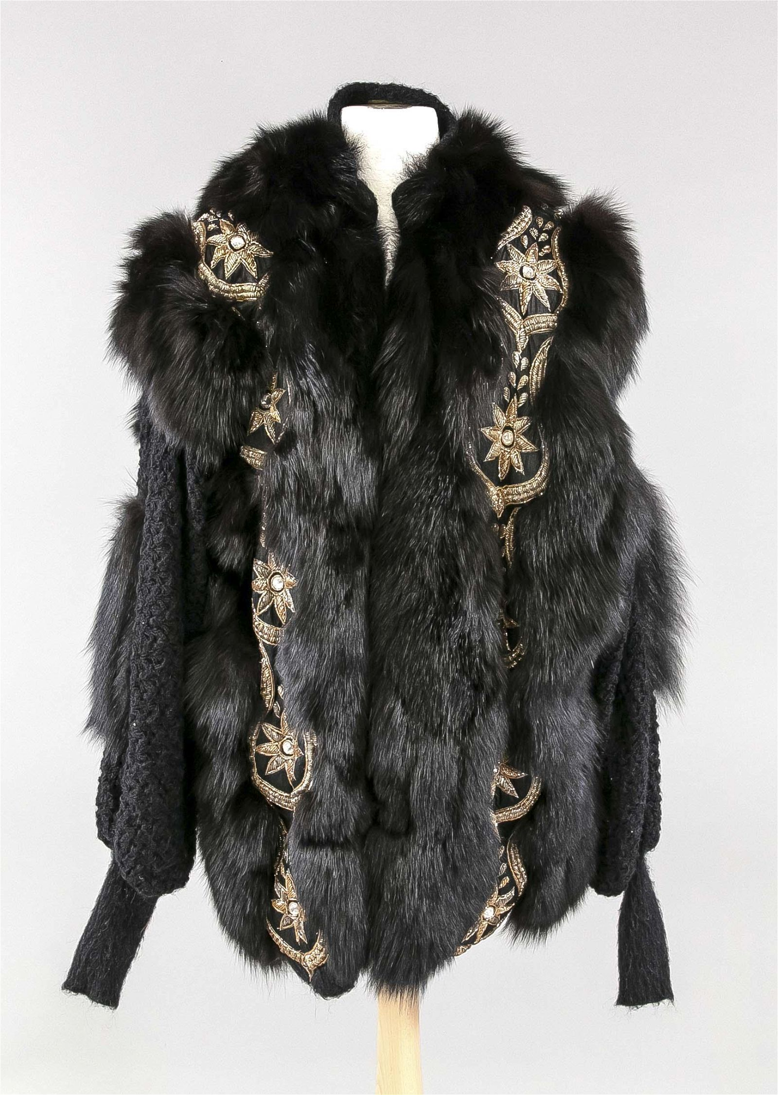 Fur jacket, on a label in the