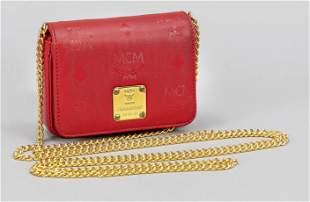 MCM, Micro Bag, coated canvas