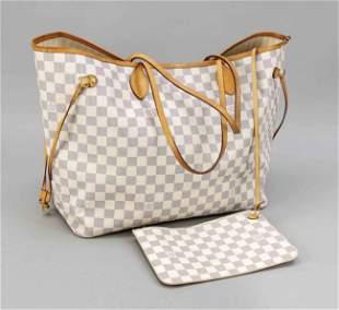 Louis Vuitton, Damier Azur Can