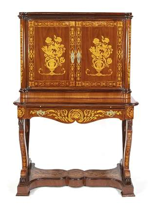 Writing cabinet in the style
