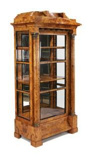 Display cabinet in Biedermei