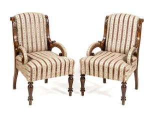 Pair of Wilhelminian style a