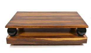 Large salon coffee table in