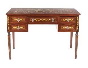 Louis Seize style desk, late