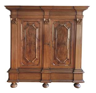 Baroque plank cabinet, 18th