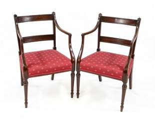 Pair of armchairs, England 1