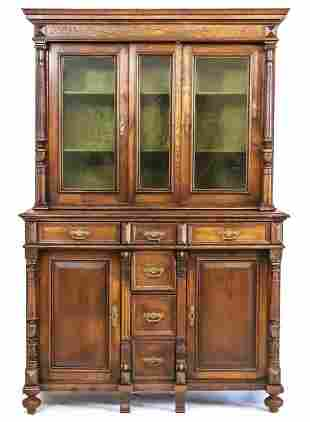 Founder period sideboard wit