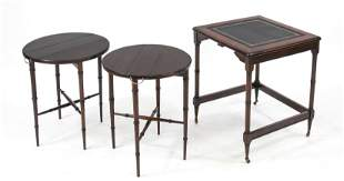 English side table with two