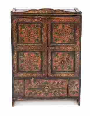 Small cabinet around 1900, w