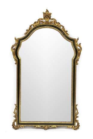 Baroque style wall mirror, 1
