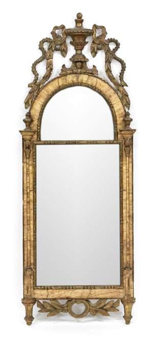 Louis Seize parlor mirror, c