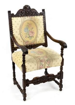 Men's armchair around 1890,