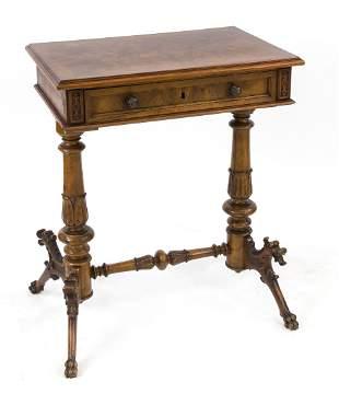 Handmade / sewing table arou