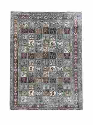 Silk carpet, 120 x 77 cm