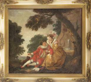 Rococo painter of the 18th c
