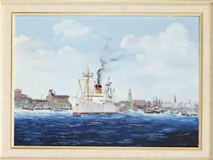 Unidentified marine painter
