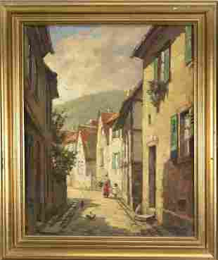 Jean Möhren (1876-?), painte