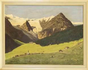 F. Beuermann, landscape pain