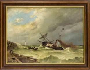 Anonymous marine painter of