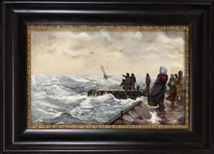 F. Schütz, marine painter c.