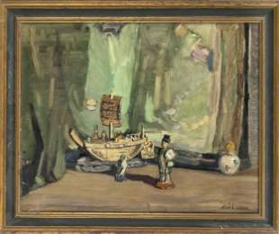Alice Kindier (?), painter c