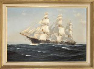 C.G. Wallis, marine painter
