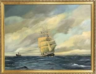 Axel Andersen, Danish marine