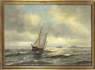 Sten Bille (1890-1953), Sail