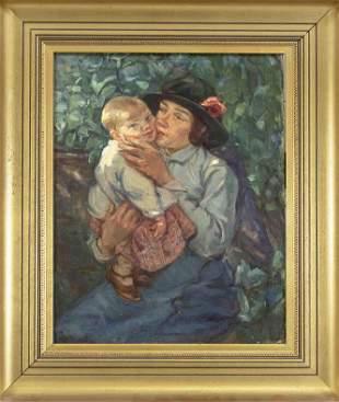 Anonymous painter c. 1910, y