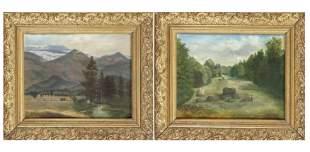 G. Frank, landscape painter