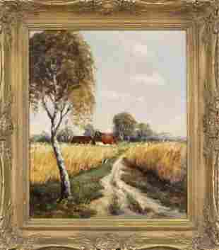D. Rauscher, landscape paint