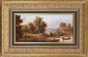 Hans Baumann (*1927), River