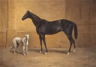 A. Franke, animal painter c.