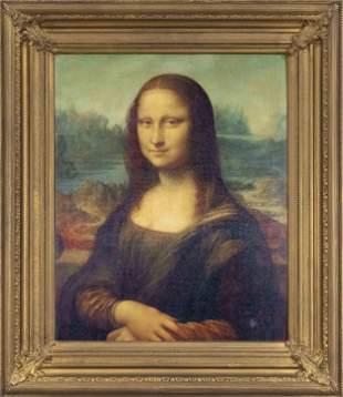 Facsimile after the Mona Lisa