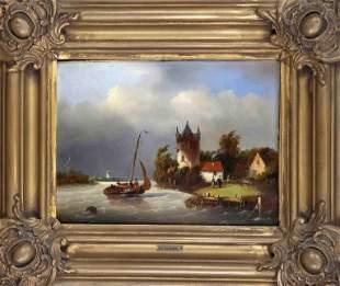 K. ten Hagen, Dutch painter o