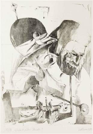 Wolfgang Henne (*1939), litho