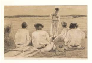 Emil Orlik (1870-1932), Rast
