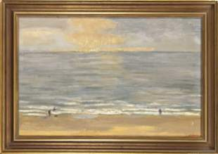 signed Fleury, French painter