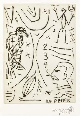 A.R. Penck (1939-2017) and Sa