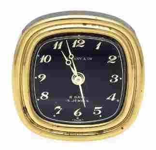 Tiffany travel alarm clock, 8
